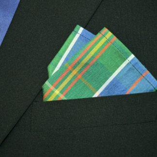 Mens Pocket Silk Square