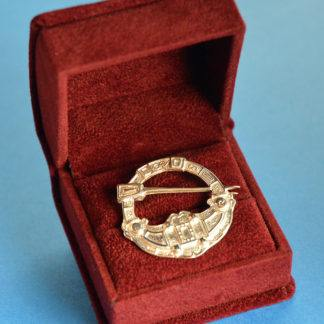 Hunterston Brooch - small size brooch in a red velvet box