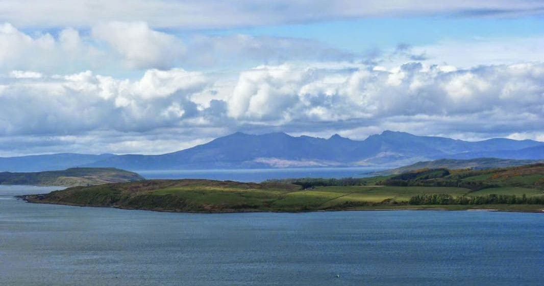 Arran from Largs
