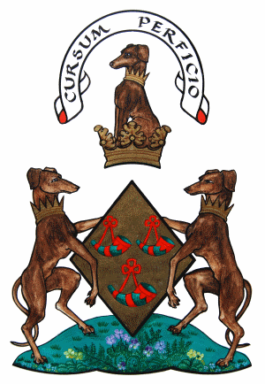 Coat of Arms of the Chief of the Clan Hunter