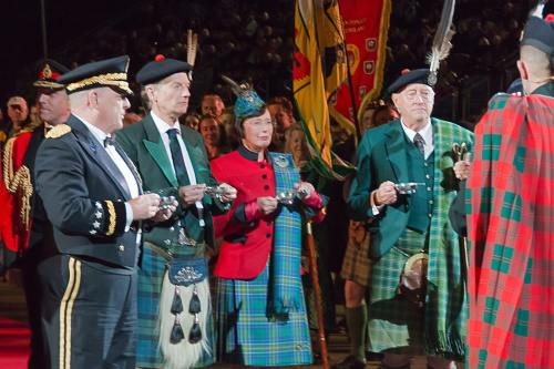 Clan Chief - Clan Hunter at the Tattoo