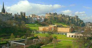 Edinburgh Castle Welcome