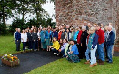 The Clan Hunter International Gathering Scotland guided tour September 2021