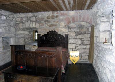 Hunterston Castle Interior Bedroom