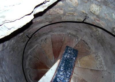 Hunterston Castle Interior Garret Stairs