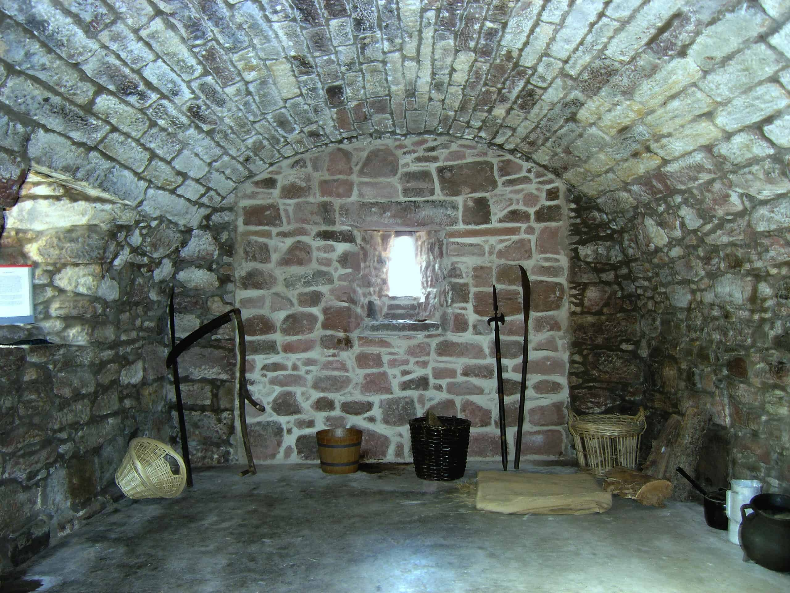 Hunterston Castle Interior Basement
