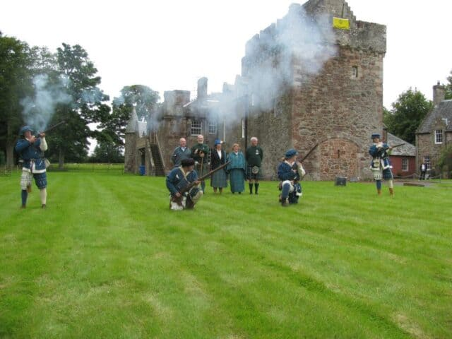 Hunterston Castle Re-enactment