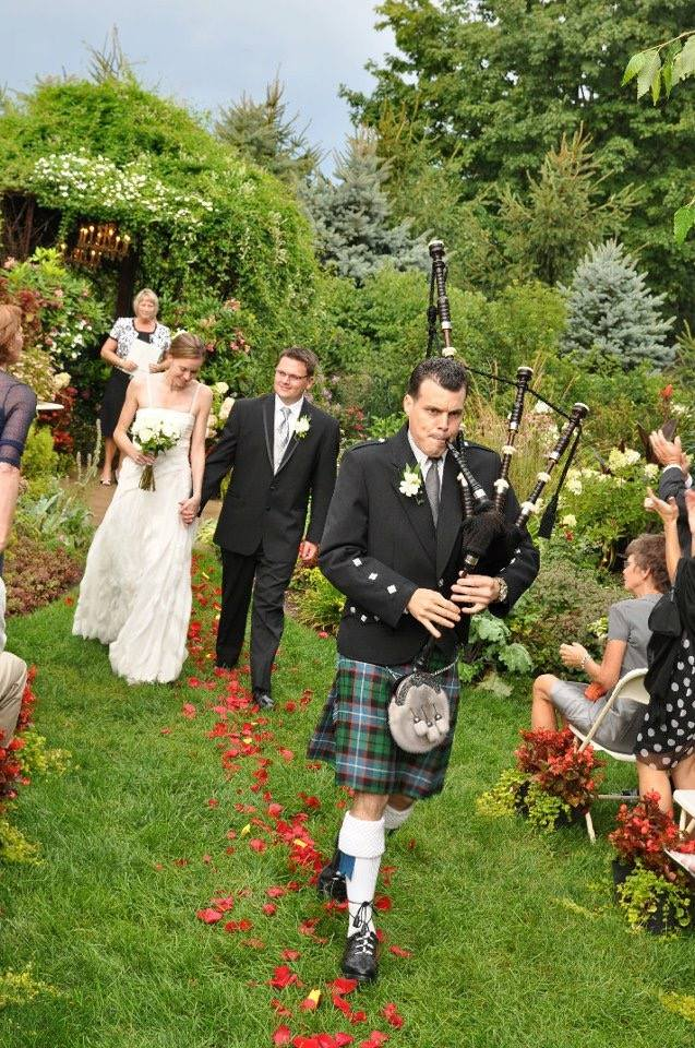 Wedding Photography image of piper leading wedding party