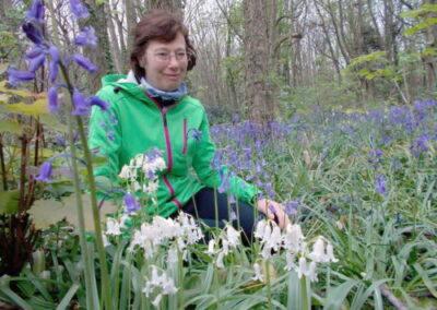 Madam Pauline Hunter in the Bluebells