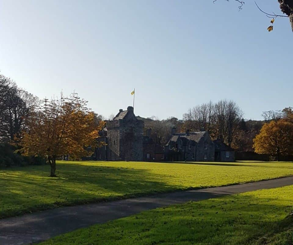 Photography booking form - Hunterston Castle Grounds in Autumn