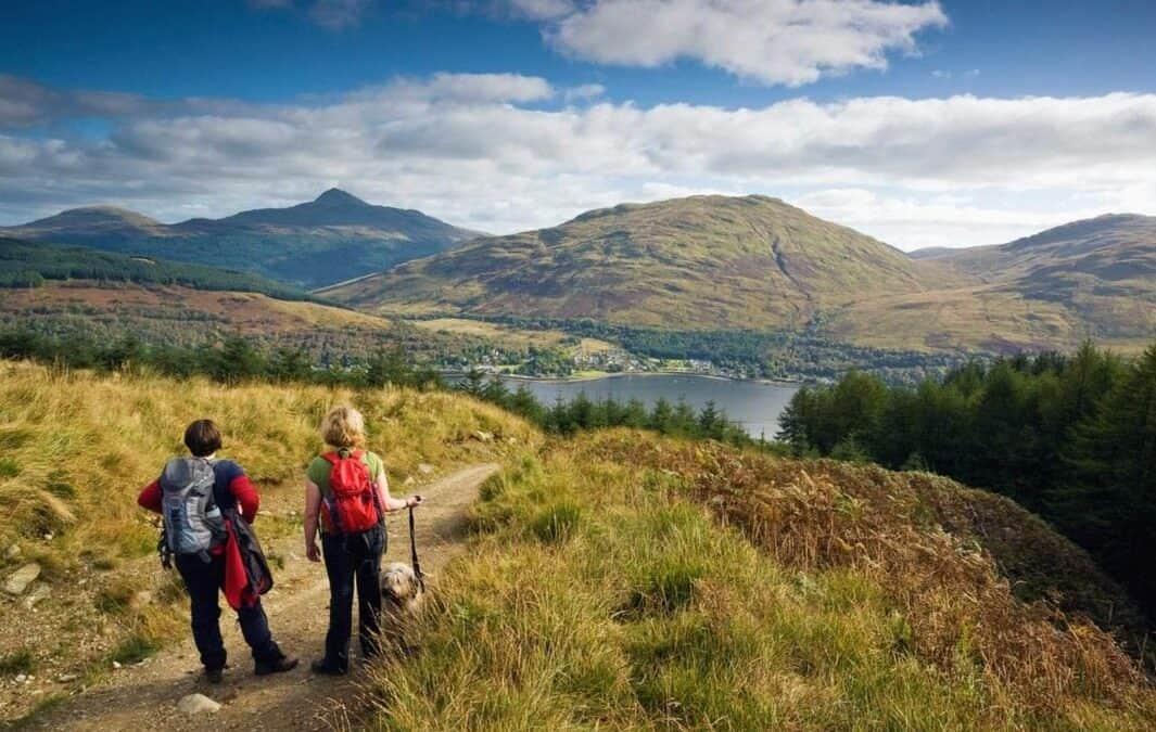The Highlands of Scotland