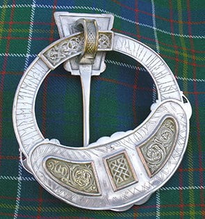 Hunterston Brooch Back