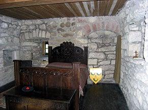 Hunterston Castle Bedroom