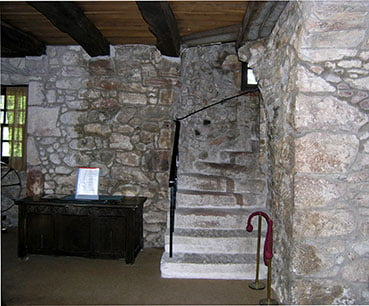 The old hall stairs