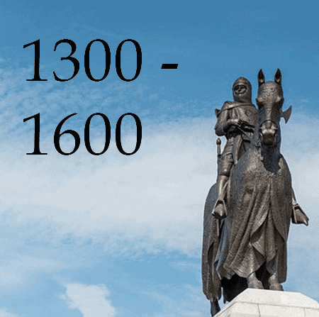 1300-1600 Image of Robert the Bruce