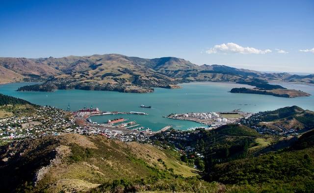 Christchurch, Lyttleton Harbour