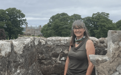 Janet Martin : Our excellent tour guide at Hunterston Castle, tells her story